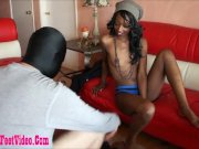 dirty black slut giving footjob and sperm on fe – amateur group