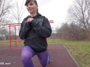 jeny smith pantyhose workout
