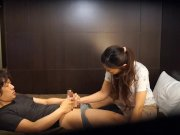Japanese lodge therapeutic massage gone improper Subtitles
