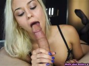 nice girl doing nice sucking. and she likes to do blowjob and feel, slut!