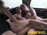 FakeTaxi - Hot Sexy Taxi Foursome Gangbang