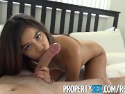 PropertySex - Sexy tenant gets fucked hard by her