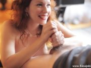 Redhead Gives TheBest Blowjob