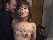 Subtitled CMNF Japanese BDSM n