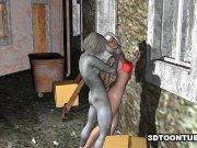Filme porno 3D cu Zombie