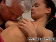 Young brunette anal Clair is h
