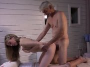 old step dad wants dick massage nailed hard by cutie step daughter