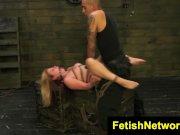 FetishNetwork Lily Ligotage bdsm slave
