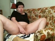 solo bbw housewife lucy in living room