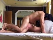 Follando con puta en lujoso hotel