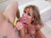 Slutty MILF Surprises Daughter