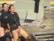 Police teen hd and trike patrol anal