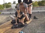 Police teen hd and black police gangbang