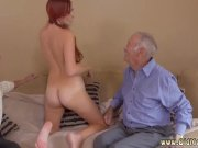 old man nails shy woman and red head frankie