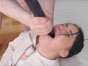 Submissive Slave Mouth Fallon West