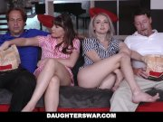 DaughterSwap - Teens fuck dads best friend during