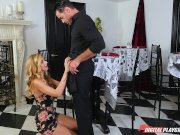 dp star 3 – tall stunning blonde alexa grace deep throat blowjob