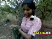 WOW Desi Sex in Jungle Jungle