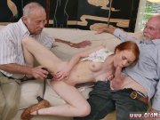 Anal and old man young ebony O