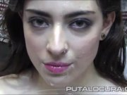 MOUTHS OF CUM Lina Morgana par