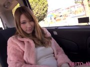 japanese beauty fucked and jizzed in a van