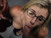 Cory Chase great cumswallow scene