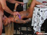 DP Star 3 - Hot Tatooed Pornstar Kleio Valentien Deep Throat Blowjob