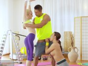 FitnessRooms Young teens fuck gym teacher's