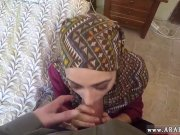 Arab blond girl first time No