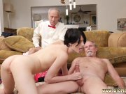 Lucky old british anal Alex Ha