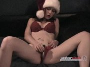 Christmas porn Mrs. Clause red