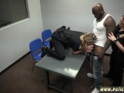 Black cop teen and cop fucks m