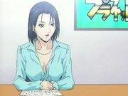 Cute Cartoon Teacher Doggystyl