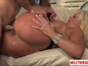 Big tits milf squirt with cum