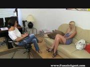 Female agent Vs fake agent