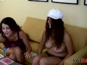 Strip memory with hot brunettes