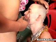 Latino anal pounding