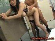 Natsumi kitahara gets fucked by four