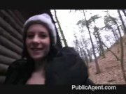 PublicAgent - Outdoor sex filmed on camera