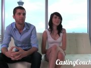 Casting Couch-X High school sweethearts