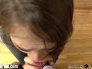 RoccoSiffredi Riley Reid Sucks Huge Cock