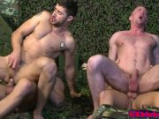 Jay Roberts and Scott hunter army queer orgy