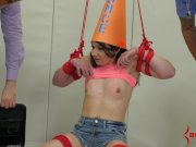 Anal Dunce Gets Punished (Tiny Girl Amy Faye)