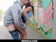 Hungarian Babe Fucked In Public
