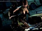 Girl in Metal Gear Solid 5 hav