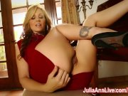 Busty Milf Julia Ann Cums on Piano!