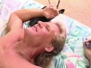 Randy West Gets His Cock Sucked and His Balls Licked Again Part II