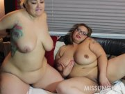 Latina BBW Sinful Celeste Asian BBW Miss LingLing Lesbo Fun