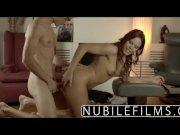NubileFilms  Spanish beauty cums on hard cock