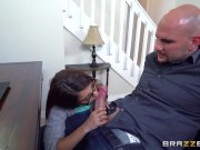 Naughty teen Sally Squirt takes bi - Brazzers